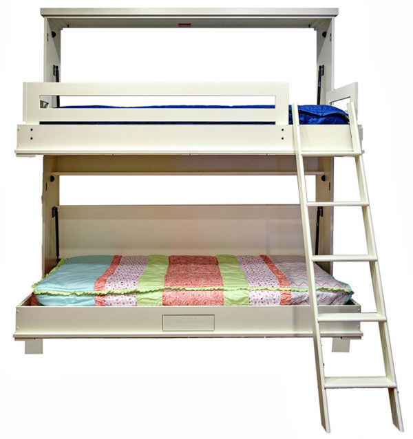Price as Shown $4,988. Price includes Newport style Bunk Bed in Paint Grade wood with an Alabaster finish. Shipping Sale! For a limited time, Wilding Wallbeds will pay up to $400 of your shipping.