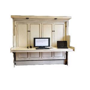 Murphy Desk Bed Hide Away, Twin Murphy Bed Desk Combination