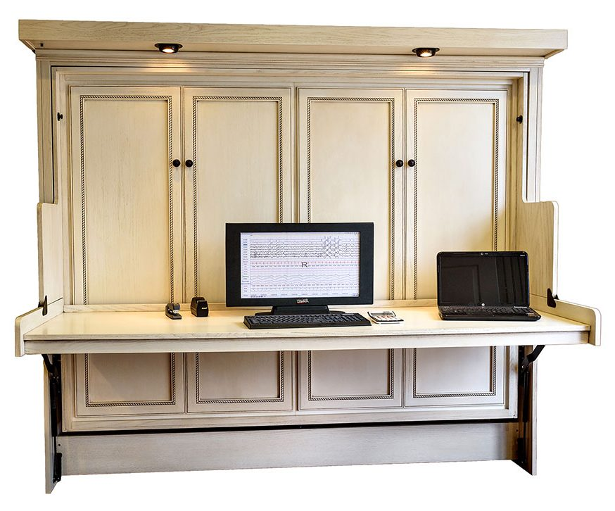Murphy Desk Bed Hide Away, Bed With Desk Attached